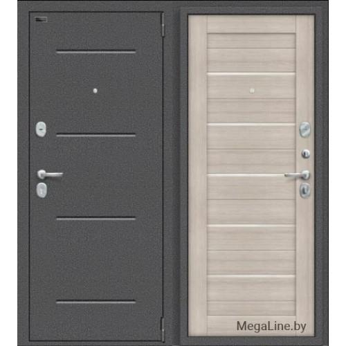Входная дверь Porta S 104.П22 Антик Серебро/Cappuccino Veralinga