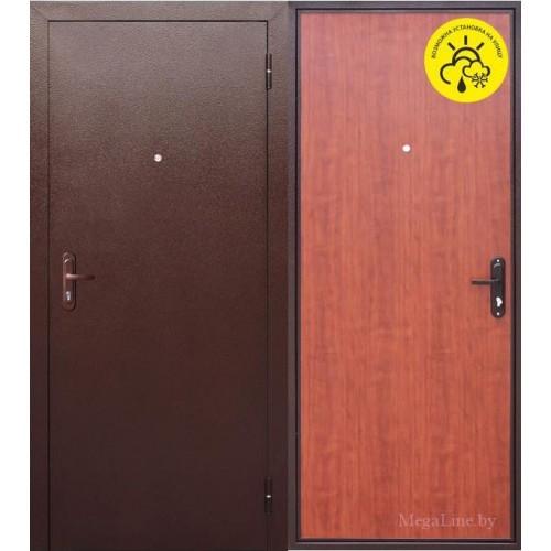 Входные двери Стройгост 5 РФ Рустикальный дуб