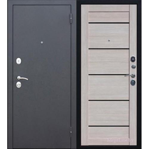 Входные двери Гарда МУАР Царга 6 см Лиственница мокко