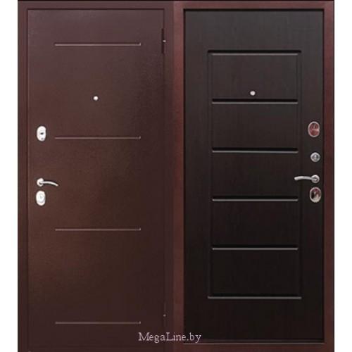 Входные двери 7.5 см Гарда Антик Венге