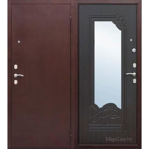 Входные двери Ампир Венге с зеркалом
