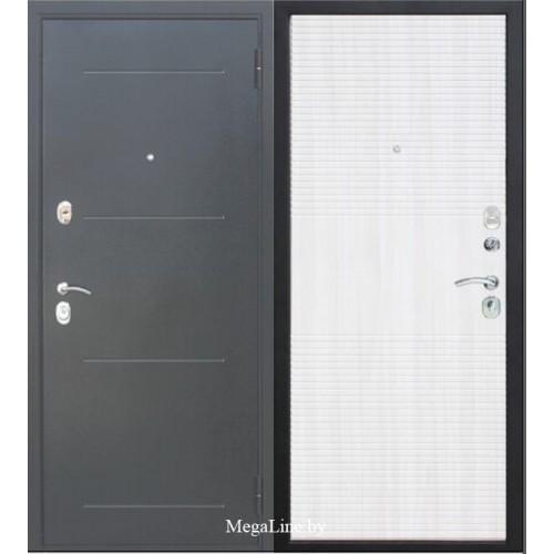 Входные двери МУАР 10 мм Белый ясень