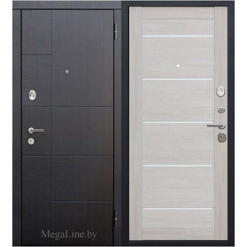Входнная дверь Гарда Роттердам Царга Лиственница беж