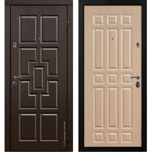 Входная дверь ШЕРВУД ❆ Стальная Линия в квартиру