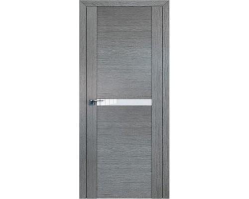 Профиль дорс 2.01XN Грувд серый - со стеклом
