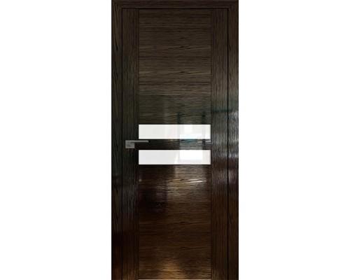 Профиль дорс 2.03STP Pine Black glossy - со стеклом