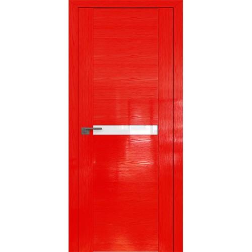 Профиль дорс 2.01STP Pine Red glossy - со стеклом