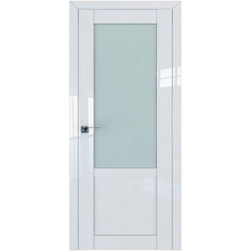 Профиль дорс 2.17L Белый люкс - со стеклом