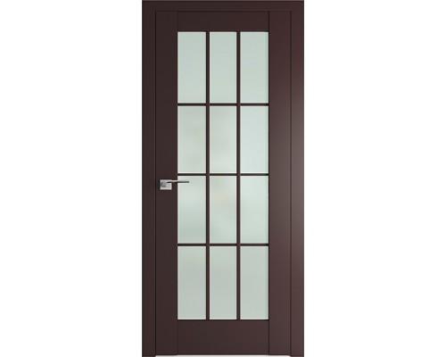 Профиль дорс 102U Темно-коричневый - со стеклом