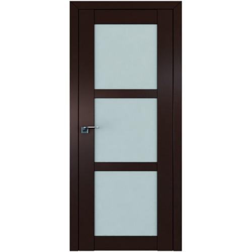 Профиль дорс 2.13U Темно-коричневый - со стеклом