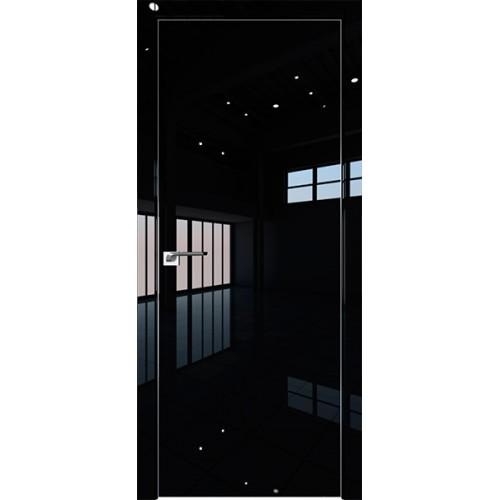 Профиль дорс 1LK Черный люкс - глухая