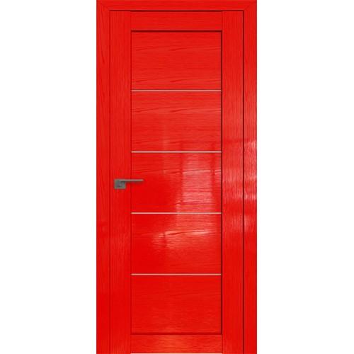 Профиль дорс 2.11STP Pine Red glossy - со стеклом