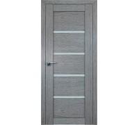 Профиль дорс 2.09XN Грувд серый - со стеклом