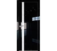 Профиль дорс 6LK Черный люкс - со стеклом
