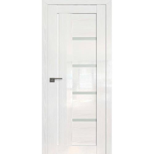 Профиль дорс 2.08STP Pine White glossy - со стеклом