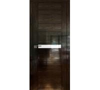 Профиль дорс 2.01STP Pine Black glossy - со стеклом