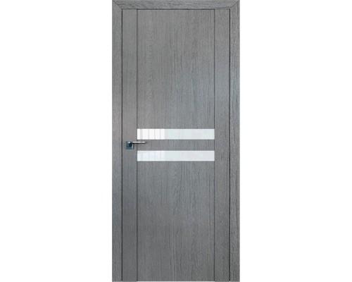Профиль дорс 2.03XN Грувд серый - со стеклом