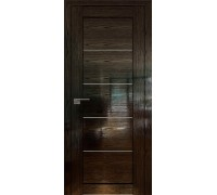 Профиль дорс 2.11STP Pine Black glossy - со стеклом