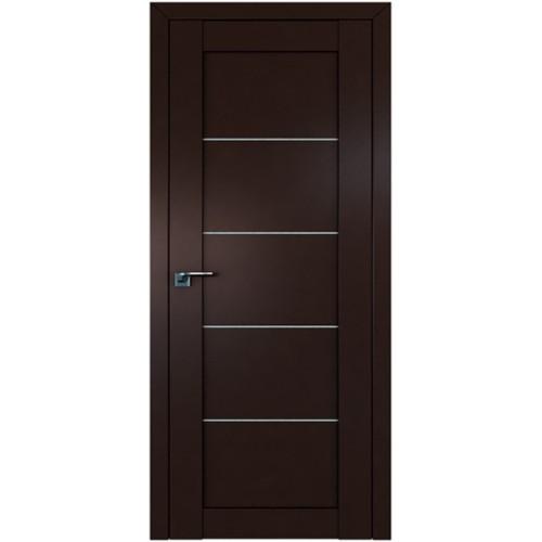 Профиль дорс 2.11U Темно-коричневый - со стеклом