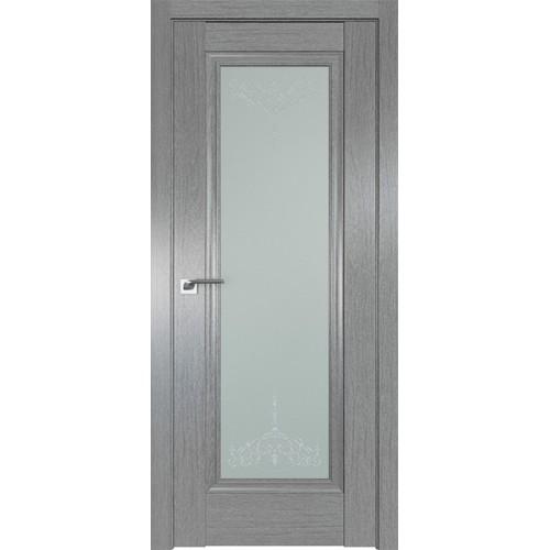 Профиль дорс 2.35XN Грувд серый - со стеклом
