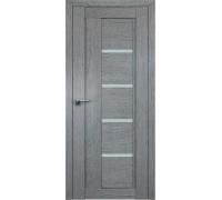 Профиль дорс 2.08XN Грувд серый - со стеклом
