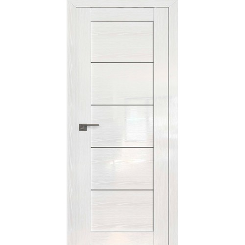 Профиль дорс 2.11STP Pine White glossy - со стеклом