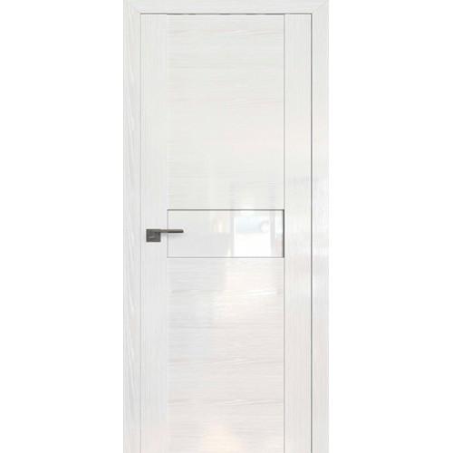 Профиль дорс 2.05STP Pine White glossy - со стеклом