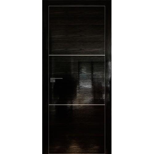 Профиль дорс 2STK Pine Black glossy