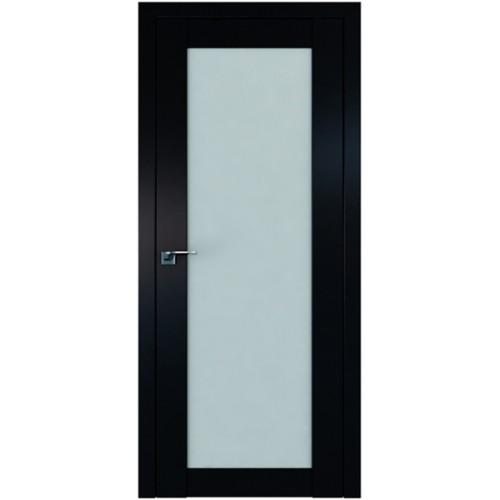 Профиль дорс 2.19U Черный матовый - со стеклом
