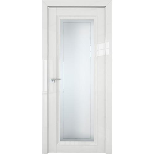 Профиль дорс 2.101L Белый люкс - со стеклом