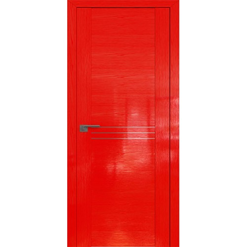 Профиль дорс 150STP Pine Red glossy - глухая с молдингом