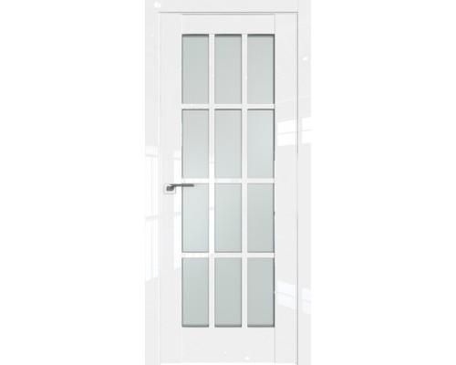 Профиль дорс 102L Белый люкс - со стеклом
