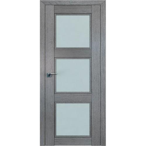 Профиль дорс 2.27XN Грувд серый - со стеклом