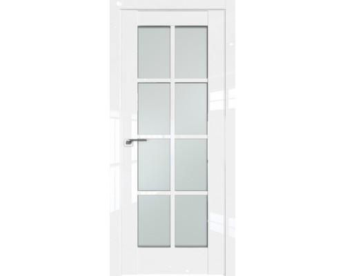 Профиль дорс 101L Белый люкс - со стеклом