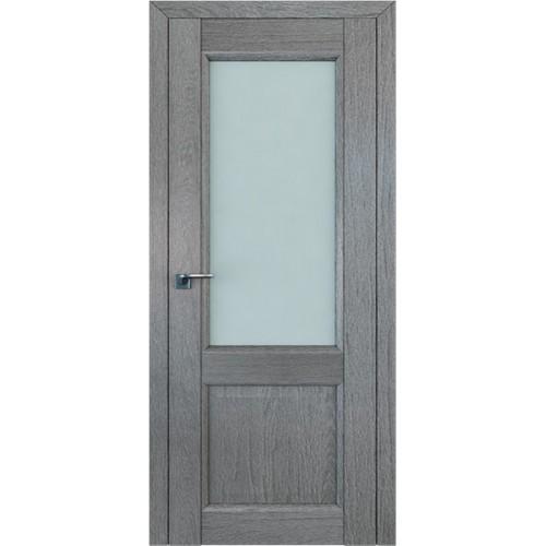 Профиль дорс 2.42XN Грувд серый - со стеклом