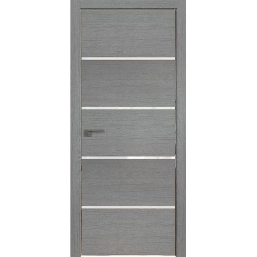 Профиль дорс 20ZN Грувд серый - со стеклом