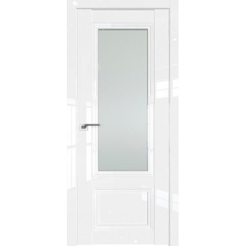 Профиль дорс 2.103L Белый люкс - со стеклом