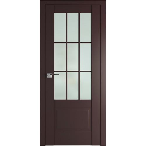Профиль дорс 104U Темно-коричневый - со стеклом