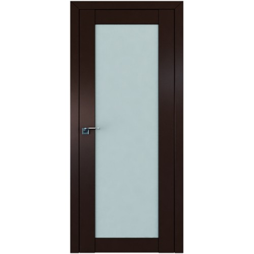 Профиль дорс 2.19U Темно-коричневый - со стеклом