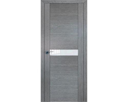 Профиль дорс 2.05XN Грувд серый - со стеклом