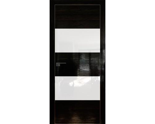 Профиль дорс 10STK Pine Black glossy