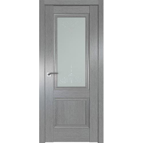 Профиль дорс 2.37XN Грувд серый - со стеклом