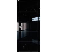 Профиль дорс 7LK Черный люкс - глухая