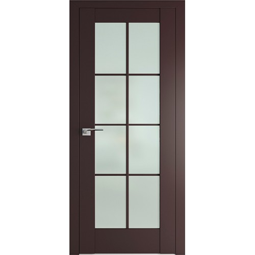 Профиль дорс 101U Темно-коричневый - со стеклом