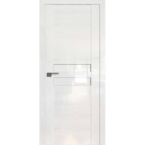 Профиль дорс 2.03STP Pine White glossy - со стеклом