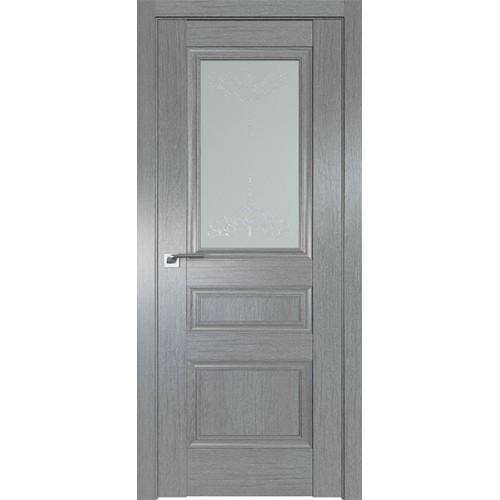 Профиль дорс 2.39XN Грувд серый - со стеклом