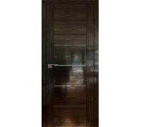 Профиль дорс 99STP Pine Black glossy - со стеклом