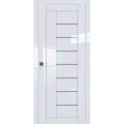 Профиль дорс 17L Белый люкс - со стеклом