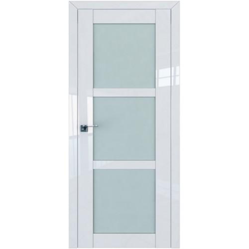 Профиль дорс 2.13L Белый люкс - со стеклом