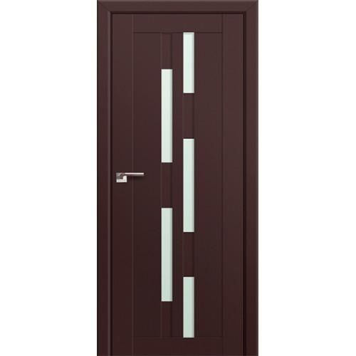 Профиль Дорс 30U Темно-коричневый - со стеклом
